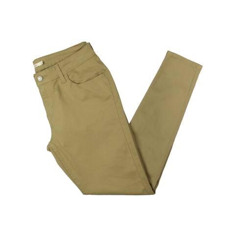 Levi's Womens Skinny Jeans Twill Mid-Rise - 32