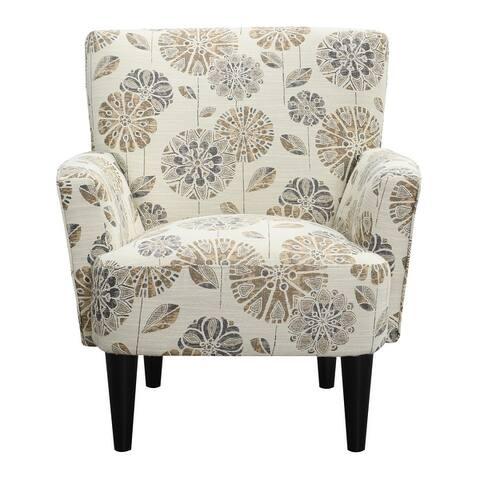 Copper Grove Trillium Flower Power Accent Chair