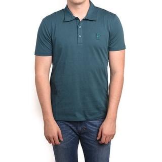 Versace Men Medusa Polo Shirt Green