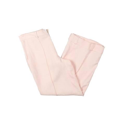 Lauren Ralph Lauren Womens Capri Pants Linen Wide Leg