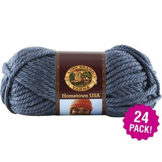 Lion Brand Hometown Usa Yarn 24/Pk-Washington Denim