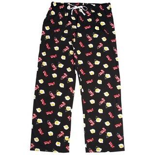 Late Night Snacks Women's Pajama Lounge Pants Bacon & Eggs - Drawstring Waist (3 options available)