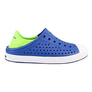 Skechers Boy's, Guzman Steps Aqua Surge Slip On Shoes Blue 13 M