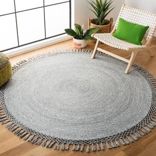 Safavieh Handmade Sahara Promila Casual Solid Cotton Rug