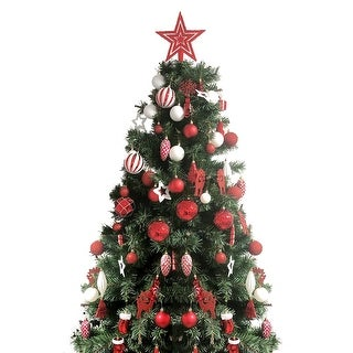 Link to 88 Piece Christmas Tree Ornaments Set, Decorative Hanging Baubles Set Similar Items in Christmas Decorations