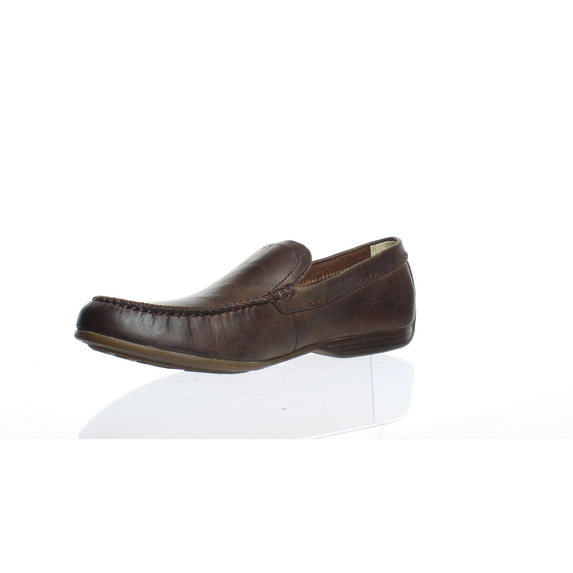 Frye Allen Venetian 85228 Mens Brown Nubuck Leather Casual Slip On Loafers Shoes
