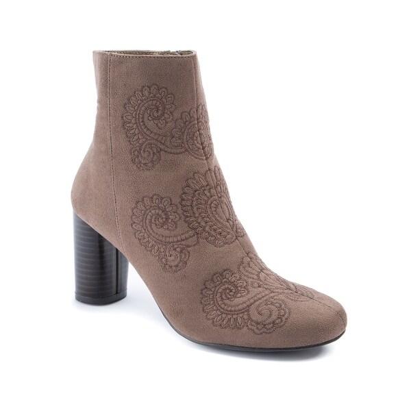 Andrew Geller Jural Women's Boots DK Mushroom