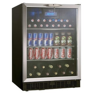 Danby DBC514 24 Inch Wide 11 Bottle Capacity Built-In Beverage Center with LED L