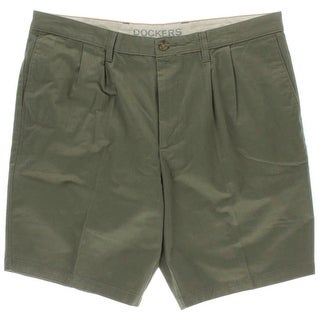 Dockers Mens Twill Classic Fit Khaki, Chino Shorts - 40