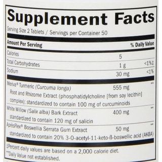 Nature's Way Curica Pain Relief 100 Tablets