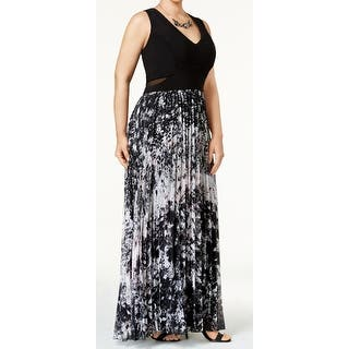 b5dbe818a25 Quick View. Was  99.99.  20.00 OFF. Sale  79.99. Xscape Black Womens Size  14W Plus Pleated Printed Sheath Dress