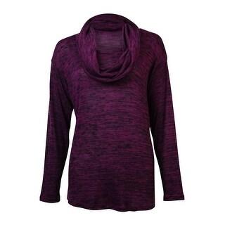 Jones New York Women's Scoop Neck Long Sleeve Sweater