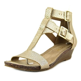Kenneth Cole Reaction Great Step   Open Toe Synthetic  Wedge Heel