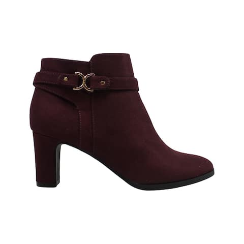 Charter Club Womens Pixxy Closed Toe Ankle Fashion Boots