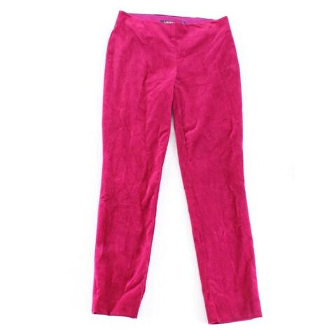 Lauren By Ralph Lauren Women's Velvet Stretch Pants