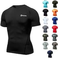 Tesla R13 Z-Series Cool Dry UPF-50 Antibacterial Short Sleeve Compression Shirt