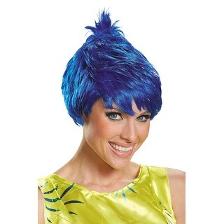 Disguise Inside Out Joy Adult Wig - Blue