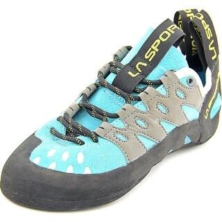 La Sportiva Tarantulace Youth Round Toe Leather Blue Hiking Shoe