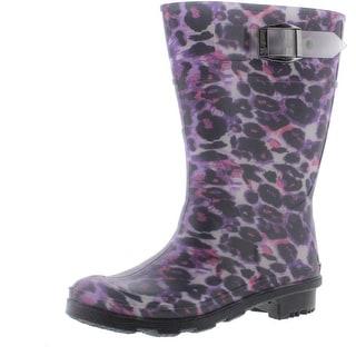 Kamik Animal Print Toddler Girl Rain Boots