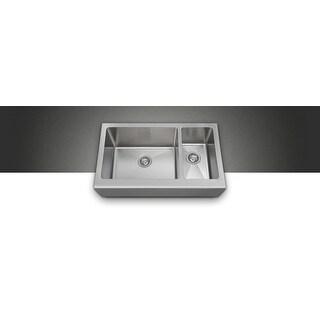 Polaris pl704 Offset Apron Sink