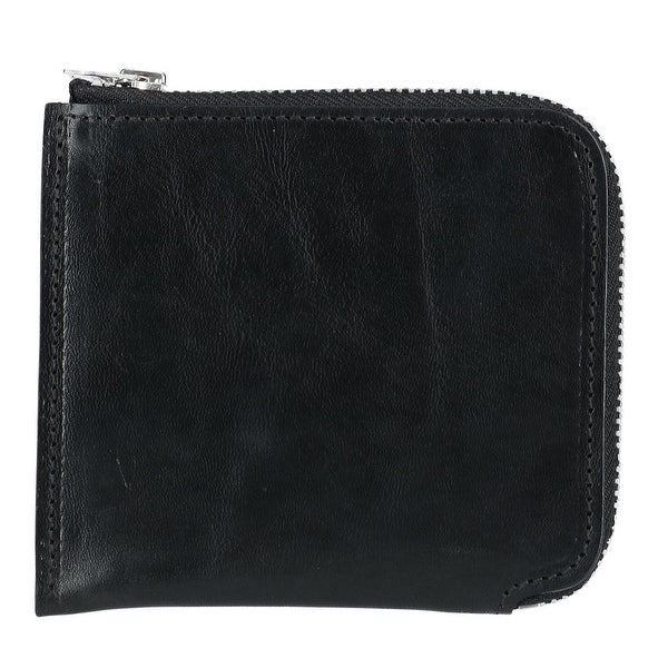 The British Belt Company Italian Leather Zip-Around Wallet - One size