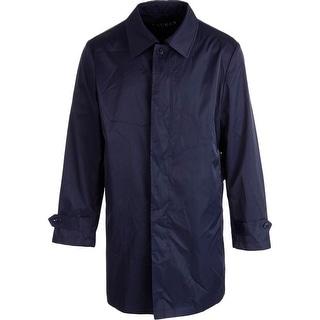 Lauren Ralph Lauren Mens Packable Solid Raincoat