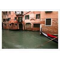 ''Gondola'' by Igor Maloratsky Photography Art Print (13 x 19 in.)