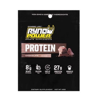 Ryno Power Protein Powder - Single Serving - Chocolate - SMP-CHOC