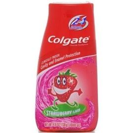 Colgate Kids 2-in-1 Toothpaste & Mouthwash Strawberry 4.60 oz
