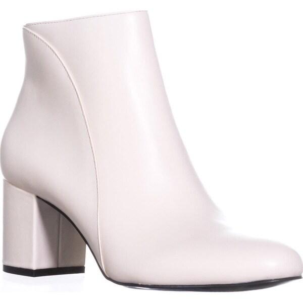 I35 Floriann Ankle Boots, Eggshell Cream - 7.5 us