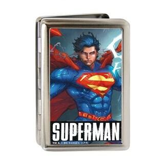 Superman Standing Pose Brushed Silver Business Card Holder|https://ak1.ostkcdn.com/images/products/is/images/direct/8231516c29f6644f4f4c74b478807c9ab443c6c4/Superman-Standing-Pose-Brushed-Silver-Business-Card-Holder.jpg?_ostk_perf_=percv&impolicy=medium