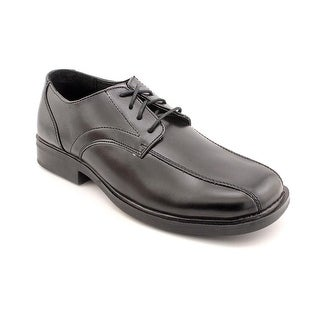 Deer Stags Gabe Youth Square Toe Synthetic Black Oxford