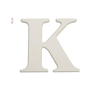 "Babies""R""Us K Letter Wall Decor Wooden Personalizable"