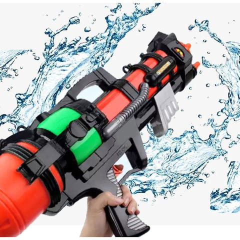 "Outdoor Play Water Toy Gun High Pressure 22in Large Capacity Shooter - 9'6"" x 13'"