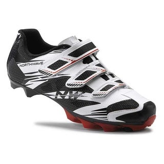 Northwave 2016 Men's Scorpius 2 Mountain Cycling Shoe - White/Black/Red