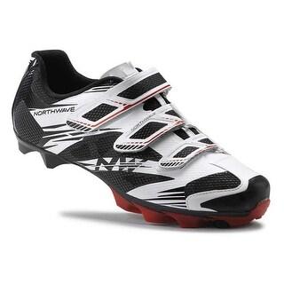 Northwave 2016 Men's Scorpius 2 Mountain Cycling Shoe - White/Black/Red