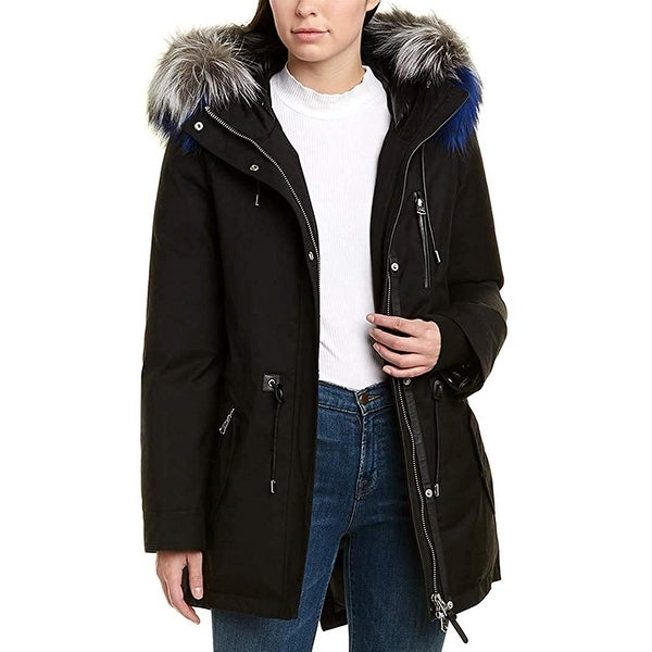 Mackage Womens Chara Down Coat, Size M. Opens flyout.