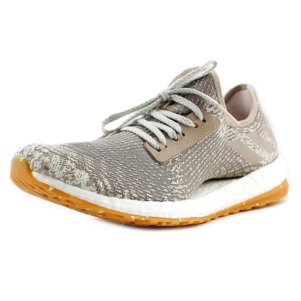 3ff23d285c37e Shop Adidas Pure Boost X Women Round Toe Synthetic Gray Running Shoe ...