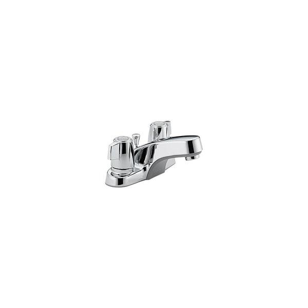 Peerless P246LF Bathroom Faucet Centerset with Double Ergonomic Blade Handles - Chrome