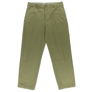 Izod Mens Saltwater Twill Classic Fit Casual Pants