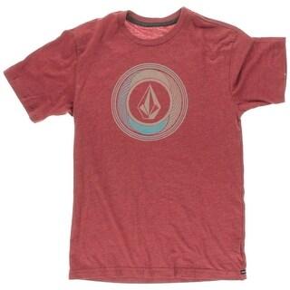 Volcom Boys Sprinkler Stone Heathered T-Shirt - XL