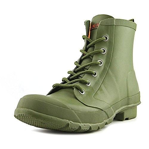 Lauren by Ralph Lauren Mikenna-BO-Rai Women Round Toe Synthetic Green Rain Boot - 5