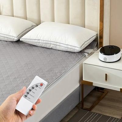 Water Heated Mattress Pad Mattress Underblanket with Wireless Remote Control