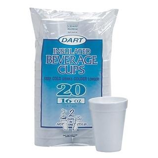 Dart Cont. 16Oz Foam Cups 16FP20 Unit: PKG Contains 12 per case