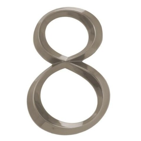 """Whitehall Classic 6"""" Polished Nickel Number 8"""