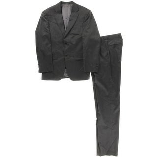Jones New York Mens Wool 2PC Two-Button Suit - 36S
