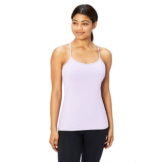 Link to Core 10 Women's Yoga Fitted Support Tank, lavender, Large, Lavender, Size Large Similar Items in Costumes