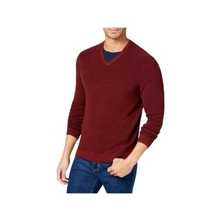 Tommy Bahama Mens Pullover Sweater V-Neck Long Sleeves