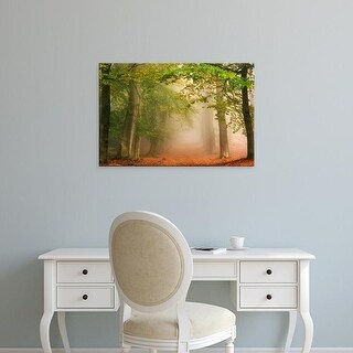 Easy Art Prints Lars Van de Goor's 'Dreambridge' Premium Canvas Art