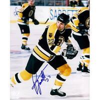 Signed Tocchet Rick Boston Bruins 8x10 Photo autographed
